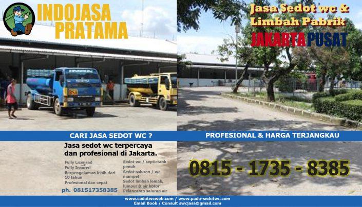 Jasa sedot wc jakarta pusat - 081287777952 & 081517358385